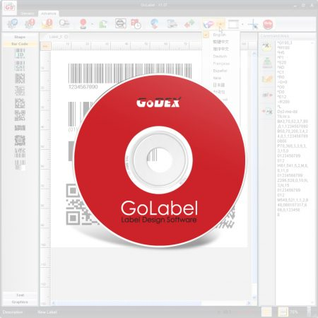 GoLabel - program za GoDEX štampače