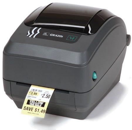 Zebra GK420t desktop štampač